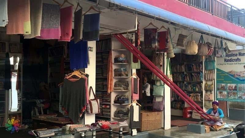 nepal alışveriş