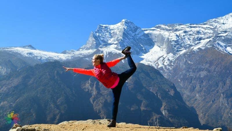 nepal'de yoga