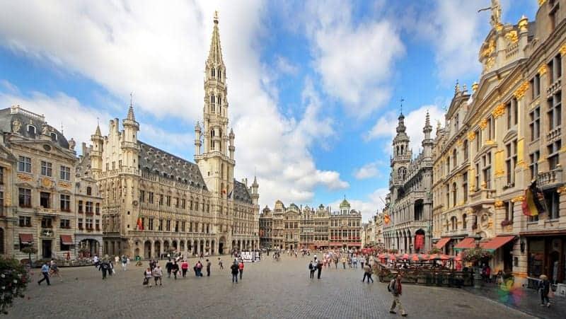 Brüksel konaklama Grand Place Meydanı