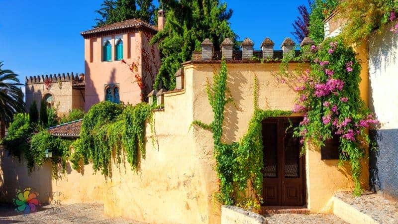 Granada gezilecek yerler Carmen de la Victoria