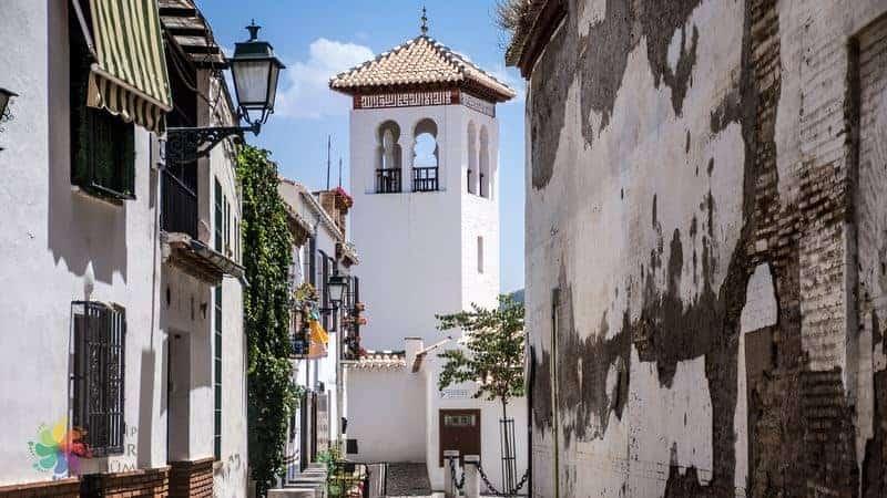 Granada'da gezilecek yerler Albaicin