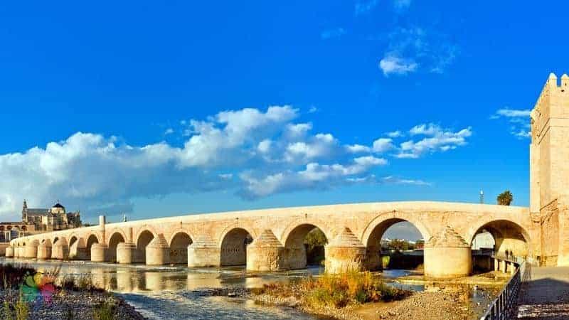 Cordoba gezilecek yerler Roman Bridge
