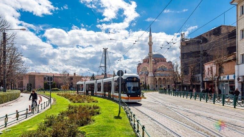 Eskişehir'de nerede kalınır tramvay, otobüs, taksi