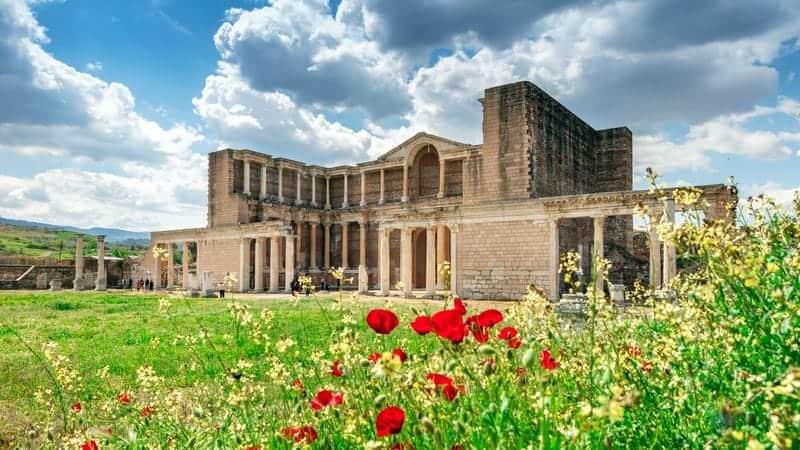 Artemis Tapınağı Sardis Ege tatili