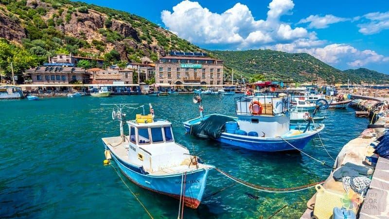 Assos Behramkale Ege'de gezilecek yerler
