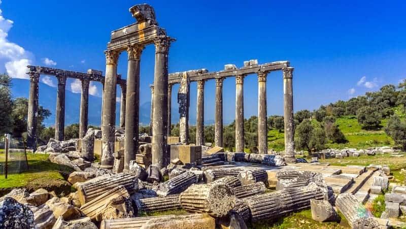 Euromos Antik Kenti Ege'de görülmesi gereken yerler