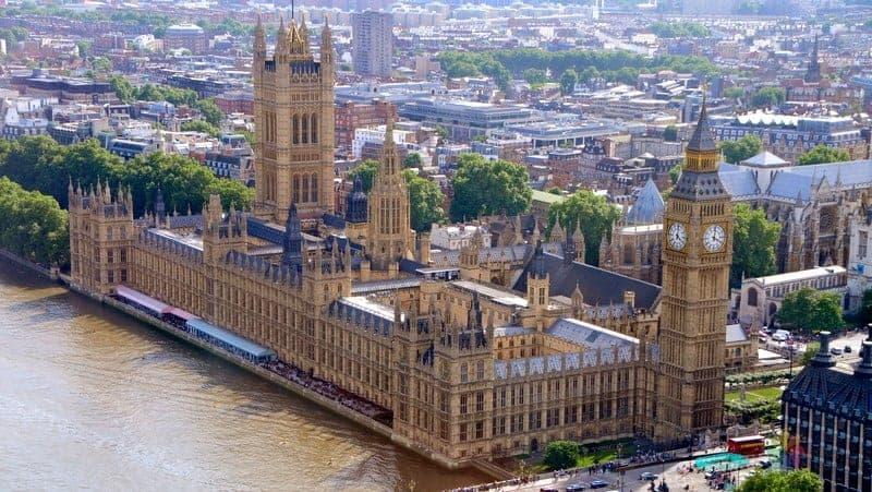 Londra konaklama Westminster