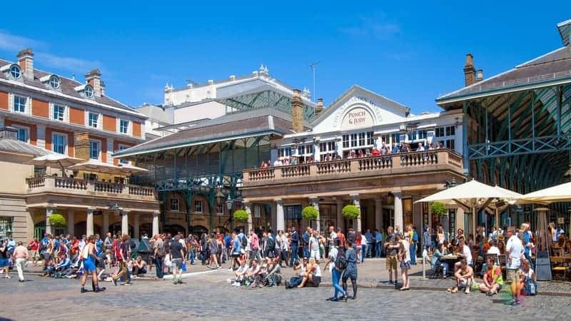 Londra'da nerede kalınır Covent Garden