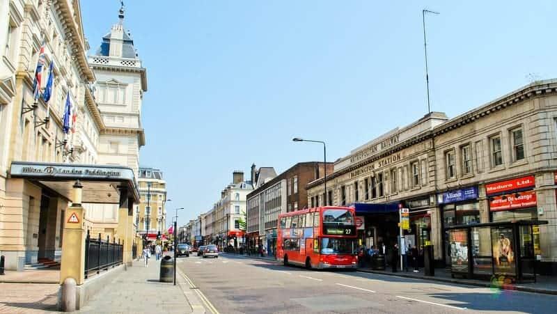 Londra'da konaklama Paddington