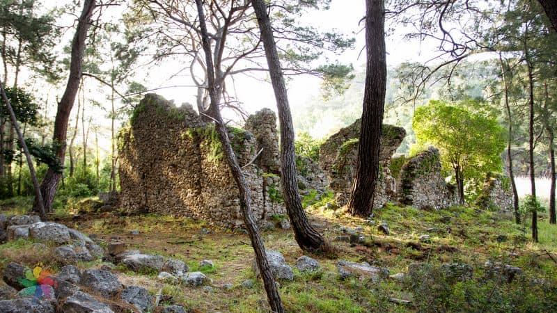 Faselis Antik Kenti Antalya gezisi