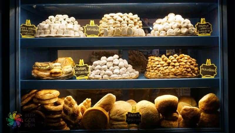 Bozcaada Tatili kurabiye