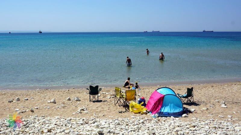 Bozcaada Tatili Habbele Plajı