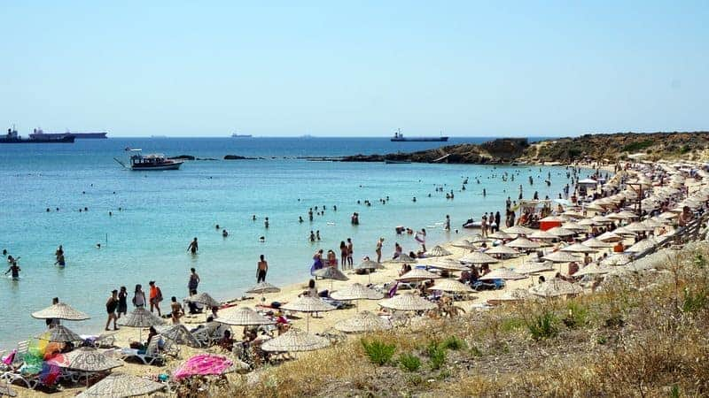 ayazma plajı bozcaada tatili