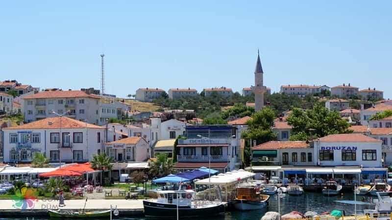 Bozcaada Tatili liman gezisi