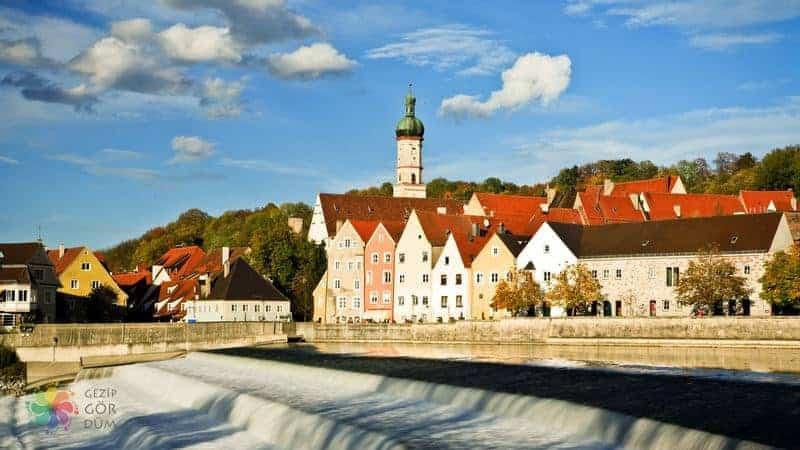 Landsberg am Lech almanya romantik yol