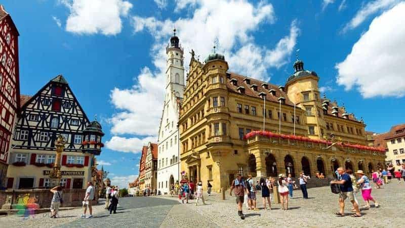 almanya gezisi Rothenburg ob der Tauber
