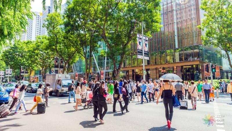 Singapur'da nerede kalınır Orchard Road otelleri