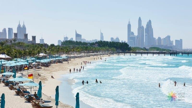 Dubai deniz kenarı lüks otel tavsiye jumeirah