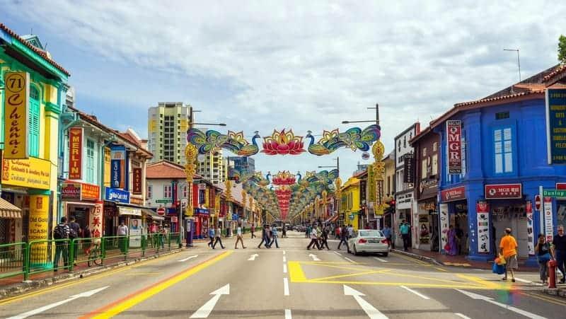 Singapur'da nerede kalınır little india otelleri