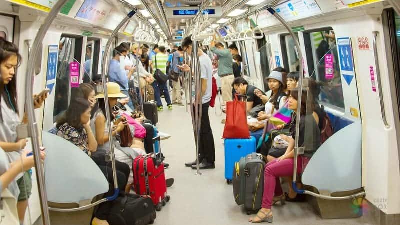 Singapur'da nerede kalınır şehir içi ulaşım