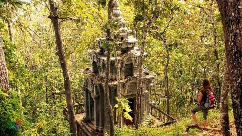 Kamboçya Kratie- Ratanakiri Mondulkiri