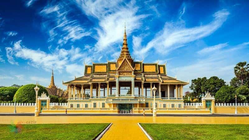 Kamboçya gezilecek yerler Phnom Penh