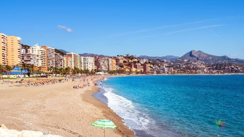 Malaga otelleri Playa la Malagueta