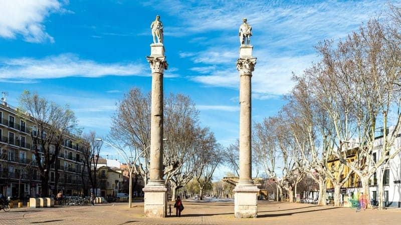 Sevilla'da nerede kalınır Alameda