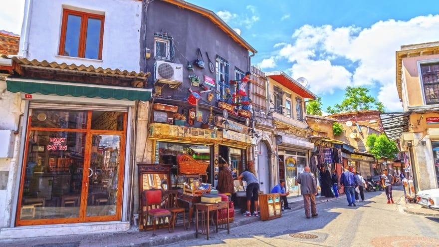 Çıfıt Çarşısı Balat'ta gezilecek yerler