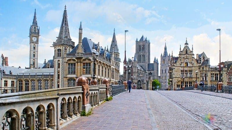 Gent'te konaklama Old Town otelleri