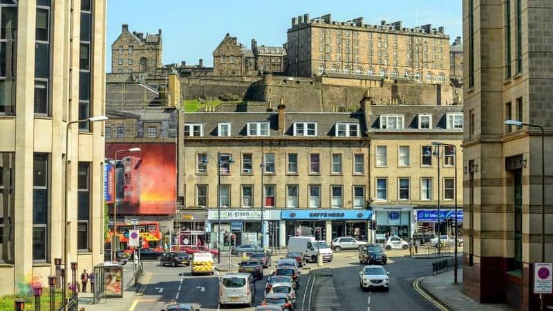 West End Edinburgh'da konaklama