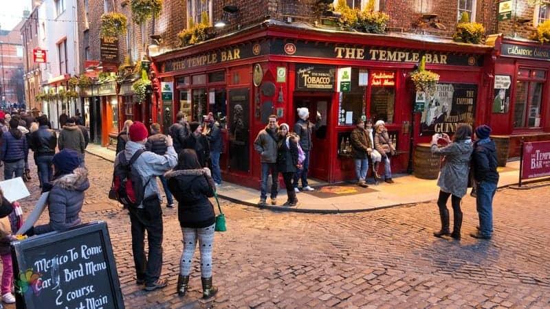 temple bar otelleri Dublin'de nerede kalmalı
