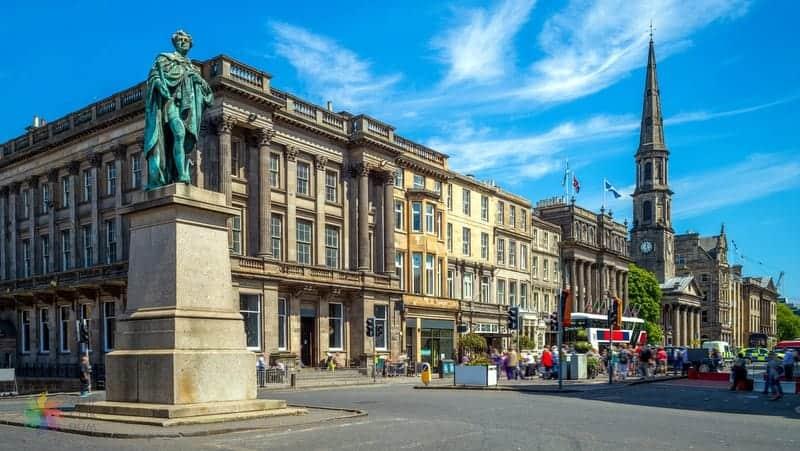 George Street Edinburgh'da nerede kalınır