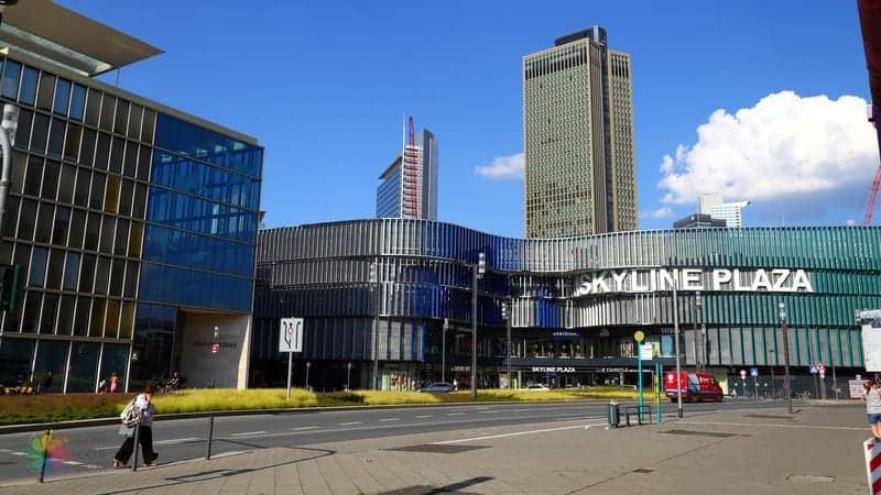Gallusviertel Frankfurt'ta nerede kalınır