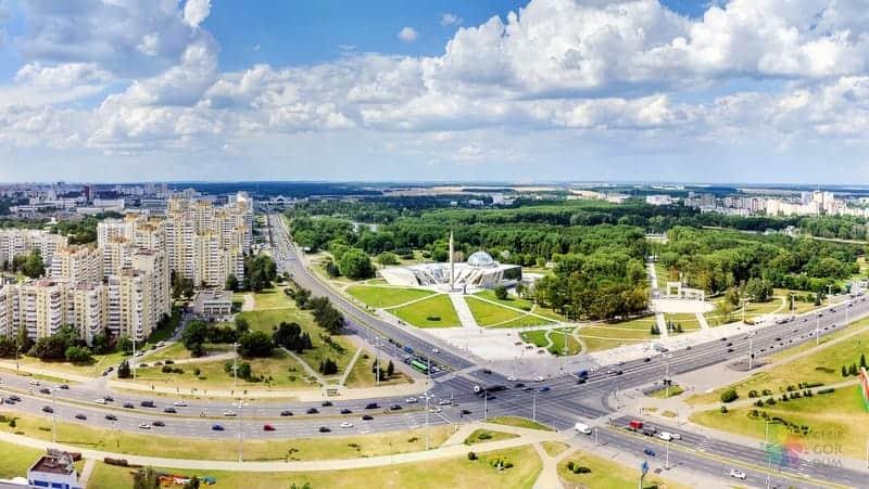 Minsk'te konaklama Tsentralnyi otelleri