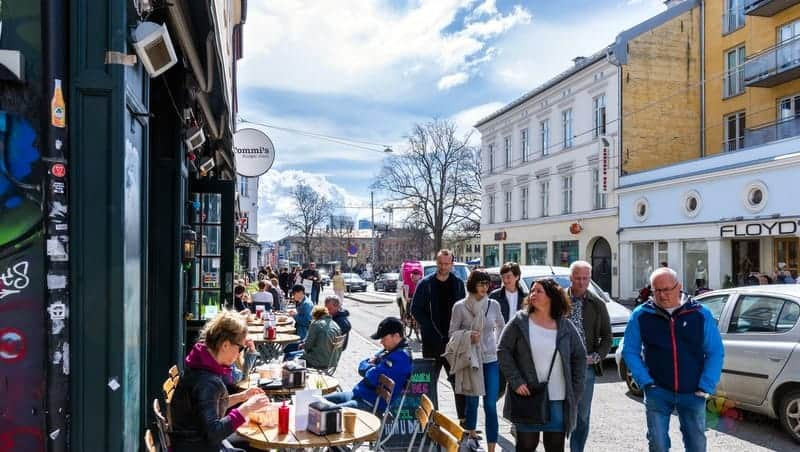 Grunerlokka Oslo konaklama