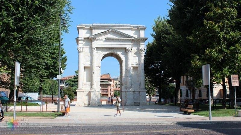 Arco dei Gavi Verona gezilecek yerler