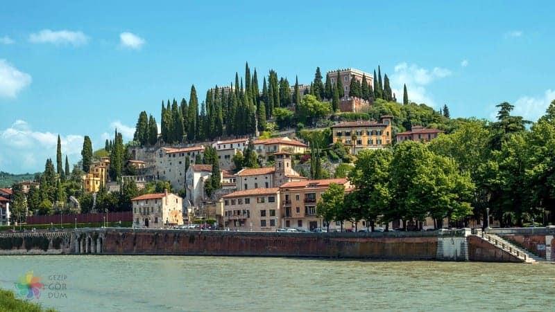 Castel San Pietro Verona'da gezilmesi gereken yerler