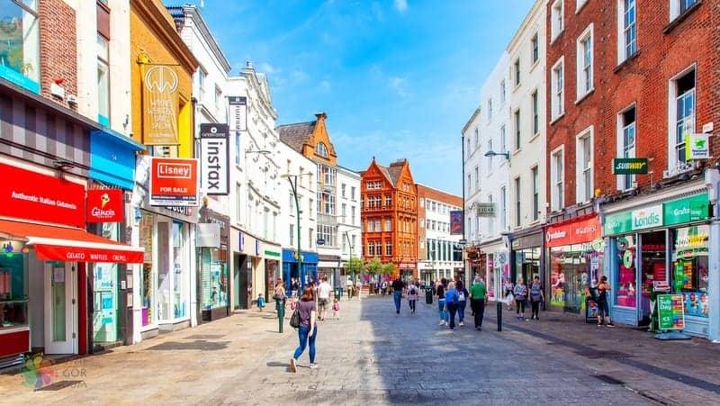 Grafton Street Dublin'de nereler gezilir