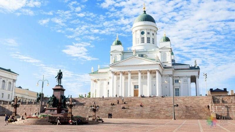 Helsinki Cathedral Tuomiokirkko Helsinki gezilecek yerler