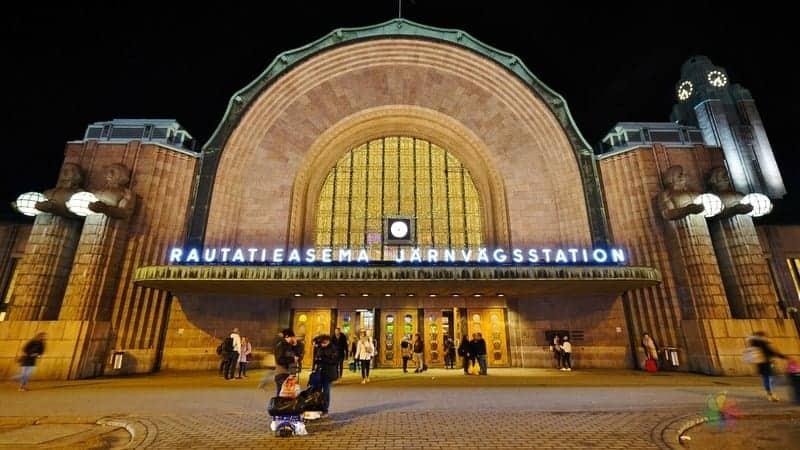 Central Station Helsinki'de gezilecek görülecek yerler