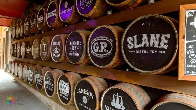 Irish Whiskey Museum Dublin'de gezilmesi gereken yerler