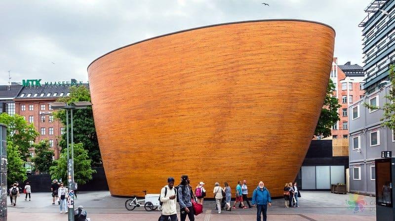 Kamppi Chapel of Silence Helsinki'de gezilecek yerler