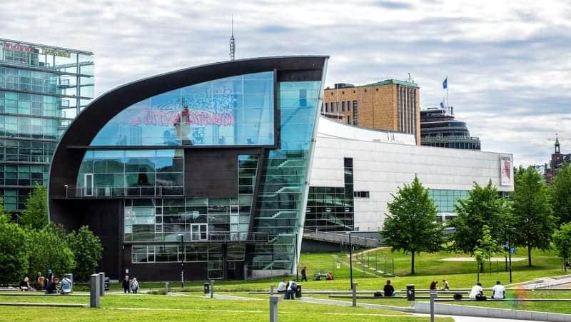 Kiasma Çağdaş Sanat Müzesi Helsinki gezilecek yerler