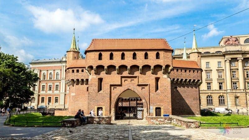 Barbican Krakow seyahati