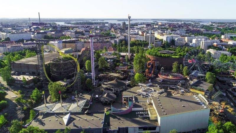 Linnanmaki Amusement Park Helsinki hakkında bilgiler