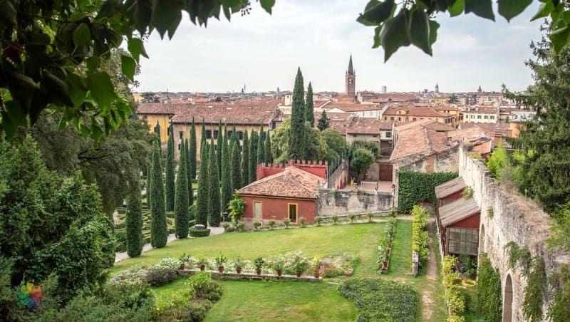 Palazzo Giusti Verona'da gezilmesi gereken yerler
