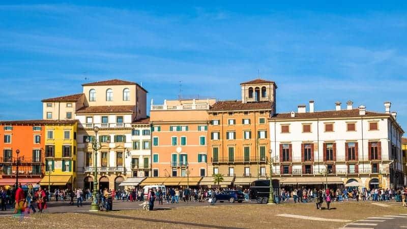 Piazza Bra Verona gezi notları