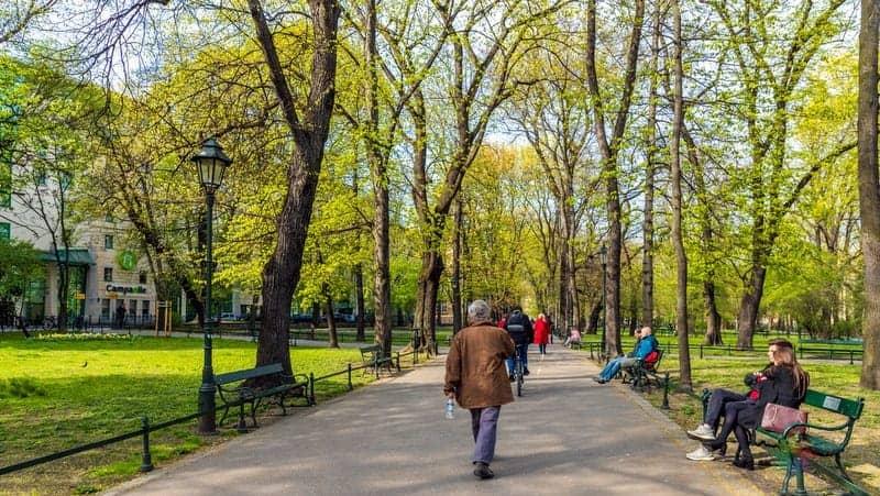 Planty Park Krakow gezilecek yerler
