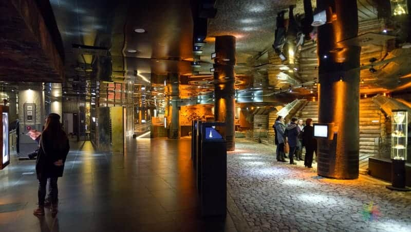 Rynek Underground permanent exhibition Krakow gezi notları